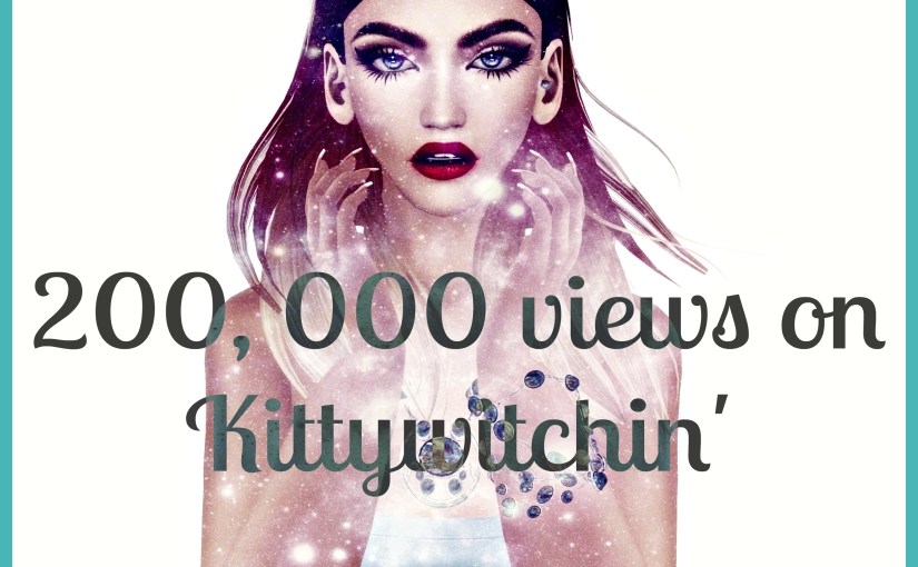 Kittywitchin has had over 200,000 page views!